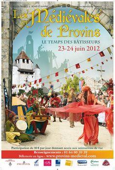 Les Médiévales de Provins 2012