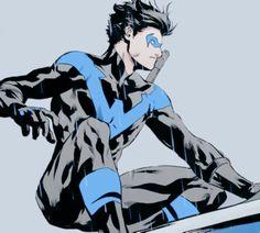 Dick Grayson in Nightwing #14 (2016) Nightwing Cosplay, Dc Comics, Gotham City, Batgirl, Birds Of Prey, Troy, Harley Quinn, First Robin, Richard Grayson