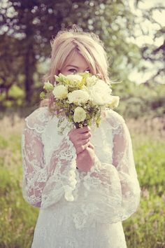 Vintage bride, so beautiful