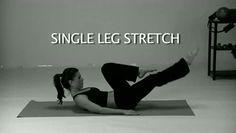 Single Leg Stretch | Kondi Callanetics