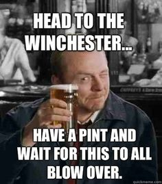 Shaun of the Dead - One of the only zombie movies I'll watch; the humor almost makes up for the nightmares! :)
