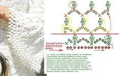 Crochet lace and ribbon trim