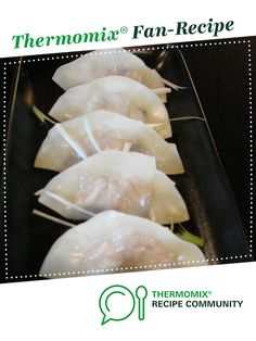 Asian Chicken and Pork Dumplings by foodieforever. A Thermomix <sup>®</sup> recipe in the category Main dishes - meat on www.recipecommunity.com.au, the Thermomix <sup>®</sup> Community.