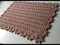Cute Crochet, Crochet Motif, Crochet Doilies, Crochet Thread Patterns, Crochet Patterns For Beginners, Crochet Placemats, Crochet Table Runner, Baby Blanket Crochet, Crochet Baby
