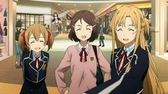 'Sword Art Online: Hollow Realization' Manga Features in New SAO Magazine Gun Gale Online, Online Anime, Online Art, Sword Art Online Movie, Desenhos Love, Kirito Asuna, Kaichou Wa Maid Sama, Manga Anime, Original Artwork