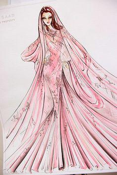 #Elie Saab Fashion Illustrations