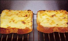 Welsh rarebit or cheese on toast? What is the difference? Is there a difference? http://on.fb.me/PKGhlD