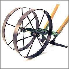 Deluxe double wheel hoe
