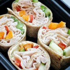 healthy sandwich rollups are a good make ahead for lunches and snacks.