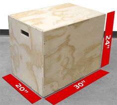 How to build a 3 in 1 wooden Plyobox for plyometric box jumps so that you can burn calories at home :)