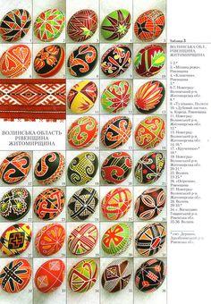 Ukrainian Egg Patterns | Ukrainian Book Folk Pysanky Easter Egg Vira Manko | eBay