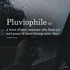 Pluviophile – Pluviophile – und ihre Bedeutung Pluviophile – Related Words for Nature Lovers - Rare wordsWine Proposal - Will You Marry Me - Proposal Keepsake -. Unusual Words, Weird Words, Rare Words, Unique Words, New Words, Cool Words, Interesting Words, Awesome Words, Words For Love