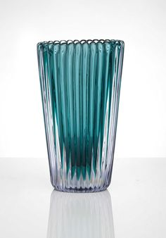 A 'ribbed sommerso' vase, circa 1953 Christie's 20th Century Italian Glass from a Private Collection