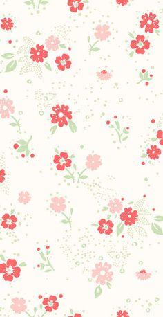 small flower wallpaper   by Helene Blanche