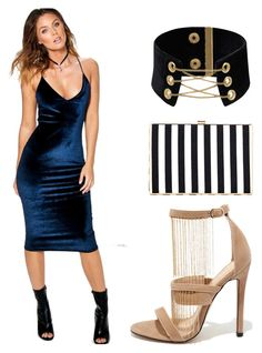 """Semi-formal"" by brittany-maurine-wise on Polyvore featuring Liliana and Boohoo"