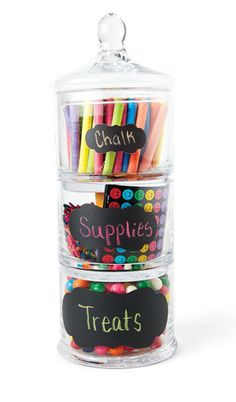 Create a Teacher Gift Jar | September 2010 | Creating Keepsakes