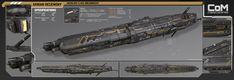 Akrian Dreadnought by PowerPointRanger on deviantART