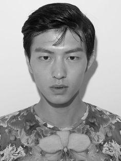 Prada Mens SS14 Debut Exclusive: Jin Dachuan from China – Bift Models