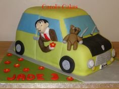 Mr Bean Cake Mr Bean Cake, Bean Cakes, Mr Bean Birthday, Mr. Bean, Toy Chest, Birthdays, Presents, England, Sweet