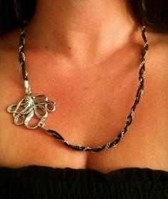 Octopus necklace by SophiaEmmeline on Etsy, $20.00