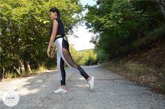 Black Light Blue Leggings, Women Leggings, Gym Leggings, Fitness Leggings, Stretch Pants, Elastic Pants, Woman Bottoms, Workout Leggings by CocoBaLeggings on Etsy https://www.etsy.com/listing/248182202/black-light-blue-leggings-women-leggings