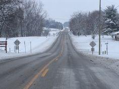 A winter morning in McCutchenville, Ohio
