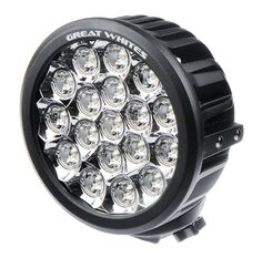 Great White 18 LED round driving light 5yrs warranty