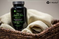 What is Relief?  Relief is support for your joint health. It's active ingredients, glucosamine and chondroitin sulfate, promote healthy and flexible joints by strengthening joint cartilage. #Inflammation #Arthritis #JointPain #NewWrapCraze  www.NewWrapCraze.com
