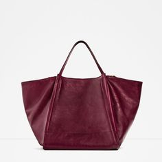 CRACKED LEATHER BUCKET BAG-View all-BAGS-WOMAN | ZARA United States