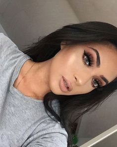 20+ Best Natural Makeup Ideas Makeup Brushes, Skin Makeup, Beauty Makeup, Makeup Blog, Gorgeous Makeup, Makeup Goals, Wig Hairstyles, Makeup Yourself, Fall Makeup Looks
