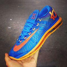 Nike KD 6 Elite Blue/Orange-Mango. Gotta love the Elite details but not the premium price.
