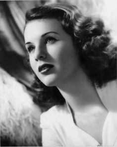 Deanna Durbin,my niece DEANNA was named after her.