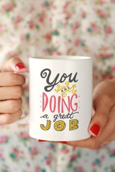 """Too many tasks to accomplish? Get the boost you need with this """"Very Busy Day"""" Mug! - Ceramic - Dishwasher and Microwave safe Double sided print - 11 oz or 15 oz - White, glossy Processing time: b Designers Gráficos, Diy Mugs, Cool Mugs, Diy Décoration, Jolie Photo, I Love Coffee, Mug Cup, Mug Designs, Tumblers"""