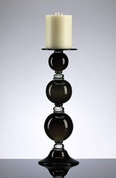 Medium Black Globe Candleholder design by Cyan Design