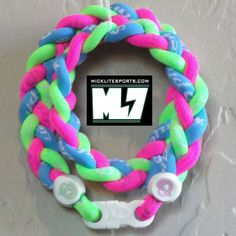 MickLiteSports.com - Phiten Tsunami Titanium Necklace PINK/OPTIC GREEN/LIGHT BLUE Custom, $55.00 (http://www.micklitesports.com/phiten/necklaces/tsunami-custom/phiten-tsunami-titanium-necklace-pink-optic-green-light-blue-custom/)