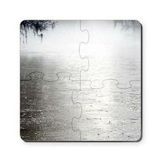 Rain On The Flint Puzzle Coasters (set of 4)