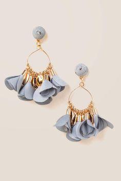 Lynn Petal Drop Earrings