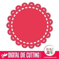 Use this pretty doily design as accents and background embellishments on scrapbook pages or cards. Digital die cutting files are designed specifically with cutting machines in mind. Use them with programs such as your Silhouette, Cricut (SCAL/MTC), Pazzles, Klick-n-Kut, Wishblade or any cutting machine that can use the following file formats: SVG, PDF, and DXF.