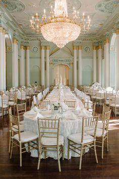 All-White Biltmore Ballroom Wedding | Photography: Sean Money + Elizabeth Fay