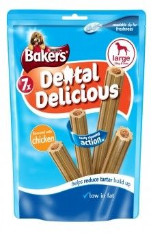 Bakers Dental Delicious Large Chicken 270g