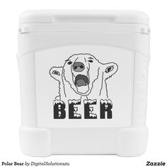 Polar Bear Rolling Cooler