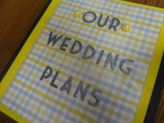 explore wedding planning notebook