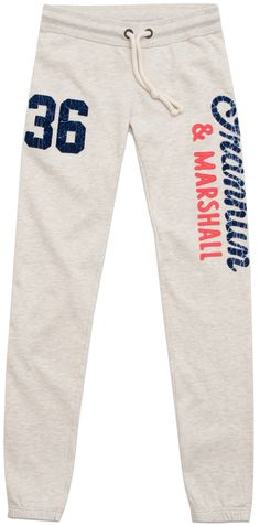 Women's plush trousers with appliqué - New Arrivals - WOMAN - Franklin & Marshall - Franklin & Marshall