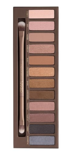 12 bronze-hued eyeshadows in an insane range of textures including matte, satin, shimmer and sparkle!