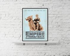STAR WARS Inspired A The Empire Strikes Back by BaydleCreative