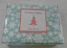 Holiday Nights Microfiber Snowflakes Queen Sheet Set Holi... https://www.amazon.com/dp/B06W5FDBM9/ref=cm_sw_r_pi_dp_x_CboRyb4681AN3