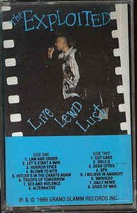 The Exploited - Live Lewd Lust: buy Cass at Discogs