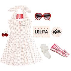 """Lolita Katie"" by mint-hime on Polyvore"