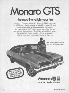1970 Holden Monaro GTS (South Africa)