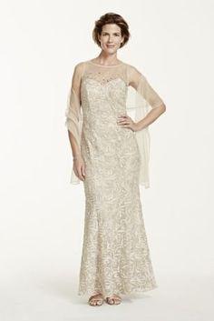Sleeveless Illusion Neckline Soutache Dress Mint, 18 David's Bridal http://www.amazon.com/dp/B00TLVCZW0/ref=cm_sw_r_pi_dp_zAr6ub1FMA4TE